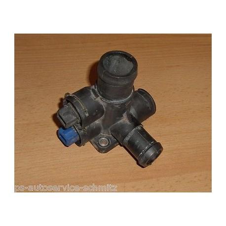 Wasserflansch mit Sensoren VW Golf 2 Audi 80 100 037121132B