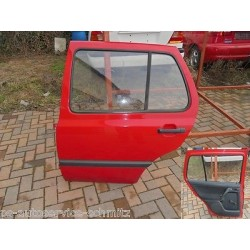 Tür hinten links VW Golf 3 rot LP3G 5-türer
