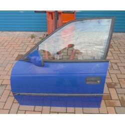 Tür vorne links Opel Astra F Y285 blau